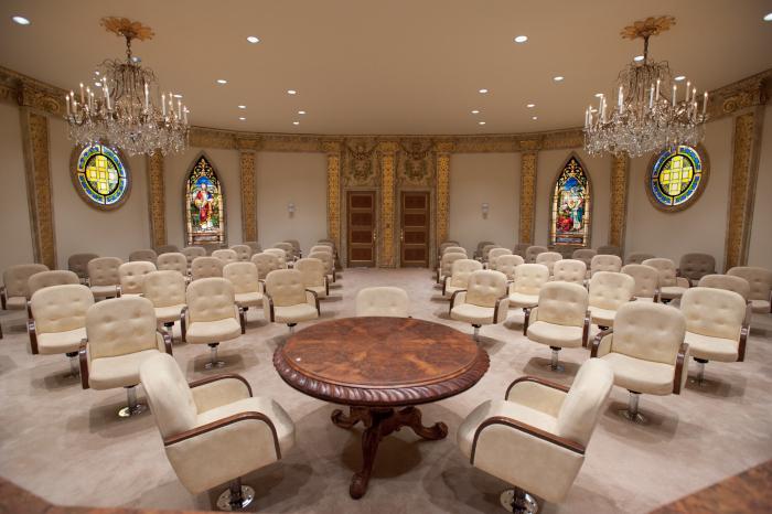Bob Jones University Board Room